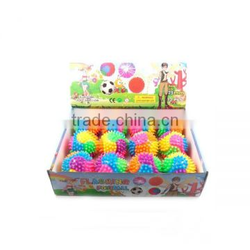 china supplier light up toy ball flashing footballs with many color mini cheap promotion toy football/