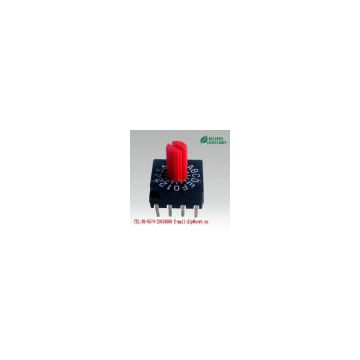 16 position rotary dip switch