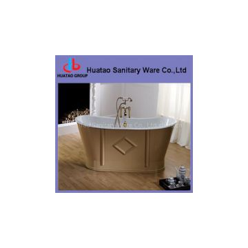 classical/art cast iron bathtub