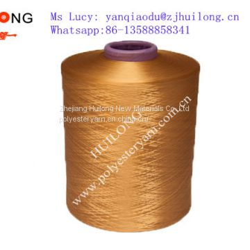 China dope dyed DTY yarn 100/48