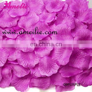 HOT! Purpie Silk Wedding Rose Petals