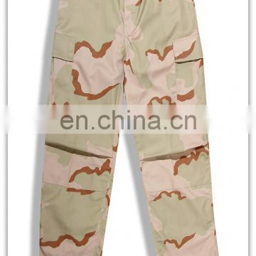 desert camouflage BDU military uniform