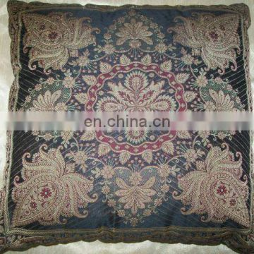 India supplier 100% natural Colorful cushion cover