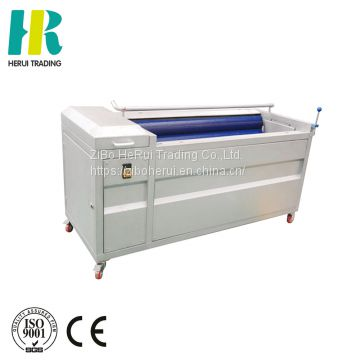 Potato carrot polishing washing & peeling machine