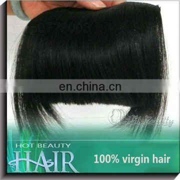Hot Beauty Human Hair Bangs Fringe