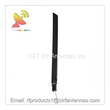Omnidirectional wifi antenna portable antenna 3400-3600Mhz 5g antenna with adapter coaxial cable