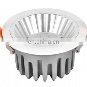 Supermarket lighting COB Round  12w LED Downlight,7w 15w 30w 40w indoor led down lights