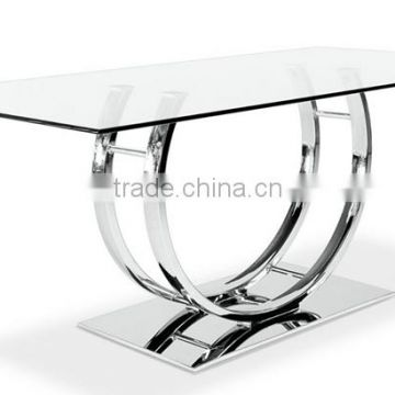 Modern Stainless Steel Coffee Table Base Wholesale Chrome Metal - Stainless steel table legs suppliers
