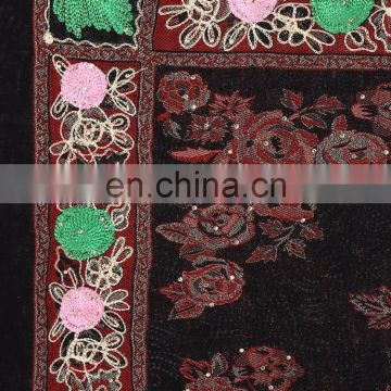 kashmiri hand embroidery shawls & stoles ladies stoles and shawls lady winter wraps and shawls