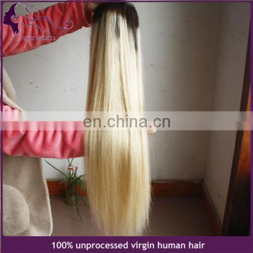 Best quality brazilian hair blonde wig full lace human hair wig
