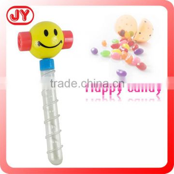 Funny plastic noise maker candy toys for children