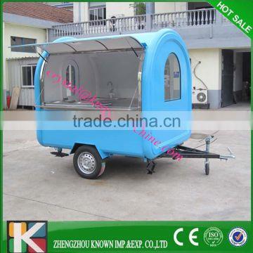 Mobile catering van Crepe kiosk Mobile fried ice cream cart of New