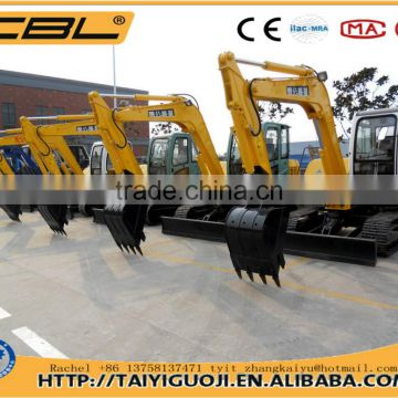 CBL-85C hydrualic crawler excavator earth moving equipment for sale