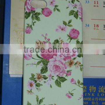 2013 hot sale beautiful flowers PC phone cover