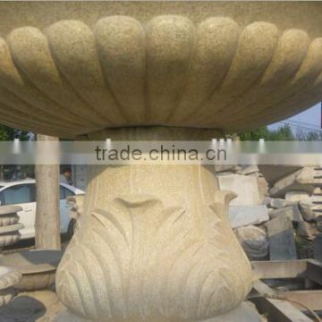 cheap outdoor yellow granite water fountains NTMF-S526S