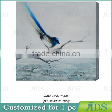 Fine Art Bird Designs Fabric Painting