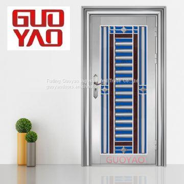 ... Alibaba Best Sale Stainless Steel Door Design Security Screen Door Steel  Mesh Cheap Stainless Steel Doors ...