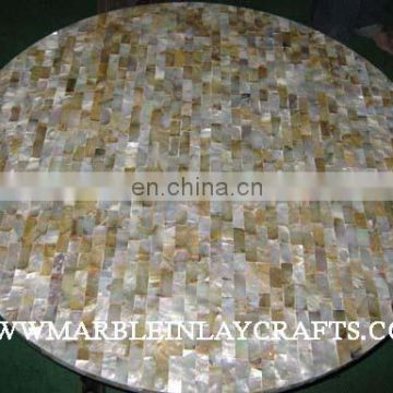 Mother Of Pearl Table Top