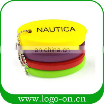 New Promotion Gifts Customized Floating PU Foam Keychain