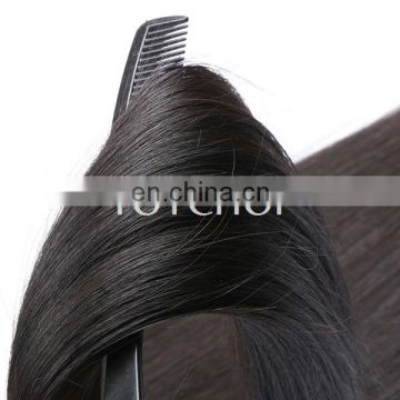 Import Raw Hair Super Soft Smooth Cuticle Intact Can Be Bleach&Dye Indian Human Hair Extensions New Delhi India