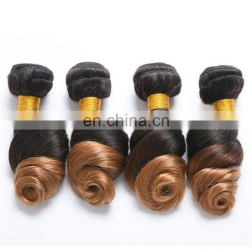 Remy human hair extension raw brazilian hair