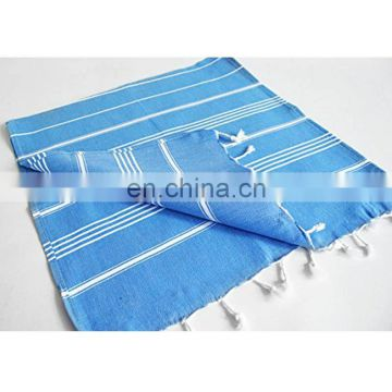 turkish disposable dry towel with tasseled