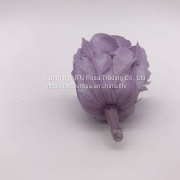 Wholesale3-4cm elegant real touch preserved rose flower