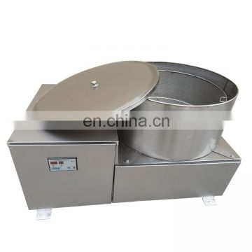 Stainless Steel Potato Chips Deoiling Machine Industrial Snacks Centrifugal Deoiling Machine Fruit Dehydrator Potato Dewatering