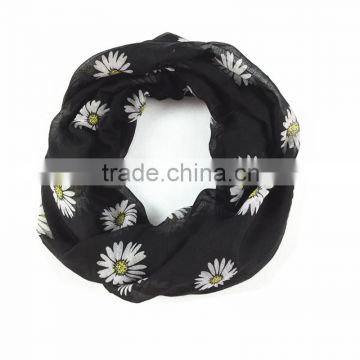 chrysanthemum element theme fashion scarf