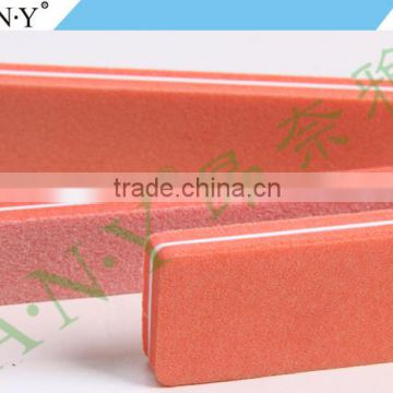 Nail Care Polishing and Shining Wide Sponge Nail Care File 100/180 Grit