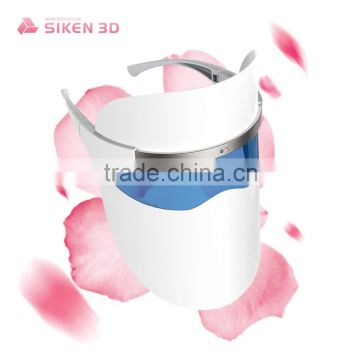 Siken 3D latest face skin care product led mask facial for rejuvenation