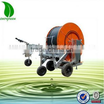 Hose Reel Irrigation Machine For PE Pipe of Irrigation