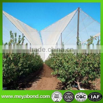 100% HDPE fruit protective net for against hail from trees