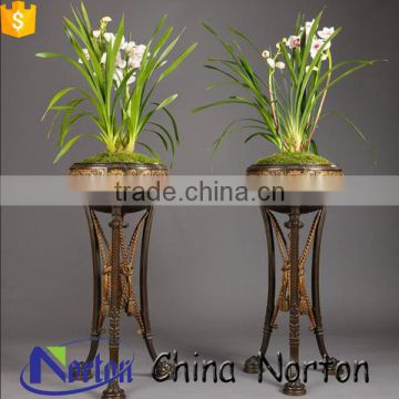 Chinese classical style vertical bronze flowerpot for sale NTBF-FL015L