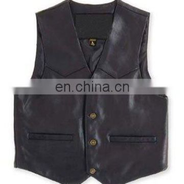 Leather Vests Art No: 1109