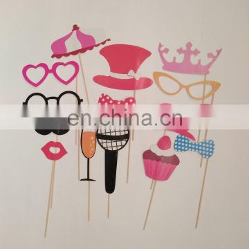 7pcs picture props photo booth props for birthday party