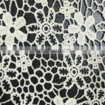 32s cotton chemical lace fabric used on garment