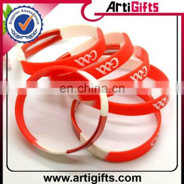 pure whiteness well being sport silicone health bracelet