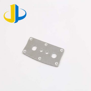 100% Inspection Metal Machined Parts Anodized Aluminum Custom