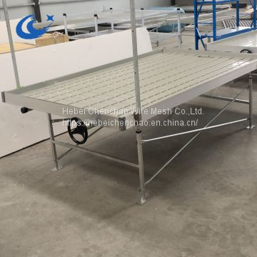 chenchao factory price hebei chenchao 4X8ft ebb and flow rolling bench