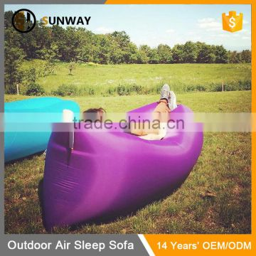 Travel Outdoor Camping Indoor Single Sleeping Bag Self Inflating Sofa