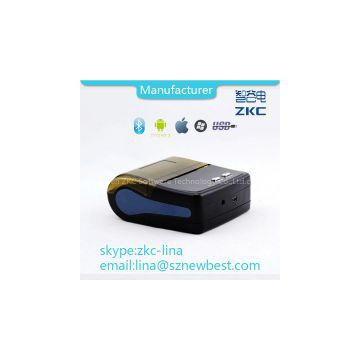 80mm wireless portable thermal printer with bluetooth and USB