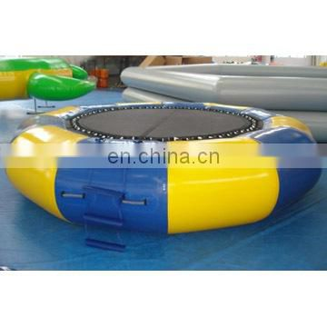 inflatable water trampoline games or water jumper