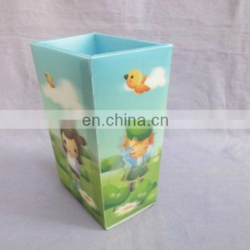 2014 cartoon square dustbin