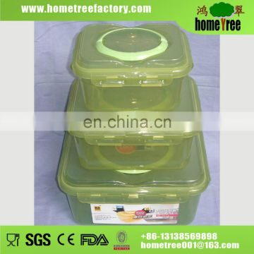 Large plastic storage box 3 pcs one set