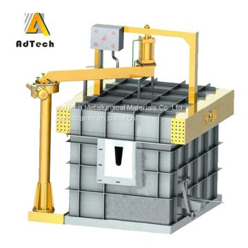 Ceramic Foam Filtration Vertical Gate Filter System