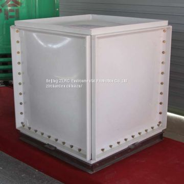 Manufacture of frp grp stainless steel  water tank