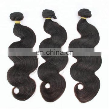 aliexpress China supply a brazilian hair products double drawn hair cuticle aligned hair bundle