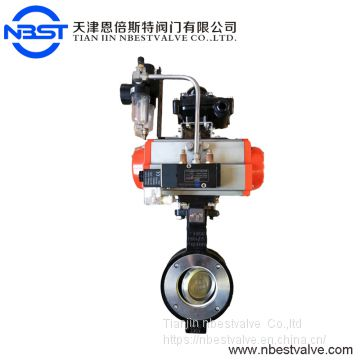 2inch Pneumatic Double Acting Air Actuated Ball Valve Check Control Actuator
