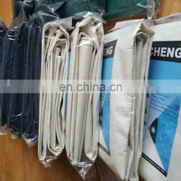 high tensile large stripe color made-to-order woven fabric pe tarpaulin for football field cover
